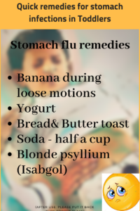 Stomach Flu Remedies