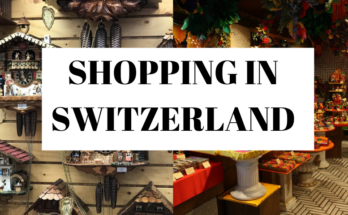 Shopping in Switzerland
