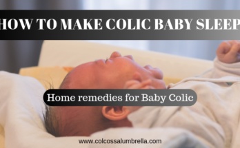 how to make colic baby sleep