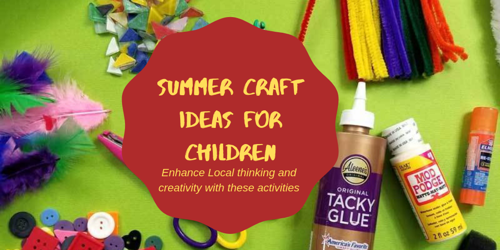 10 awesome summer crafts for preschoolers and children