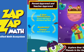ZapZapMath Gamified Math Ecosystem