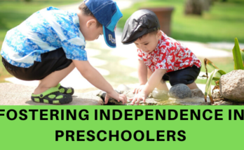 Fostering independence in preschoolers Colossalumbrella