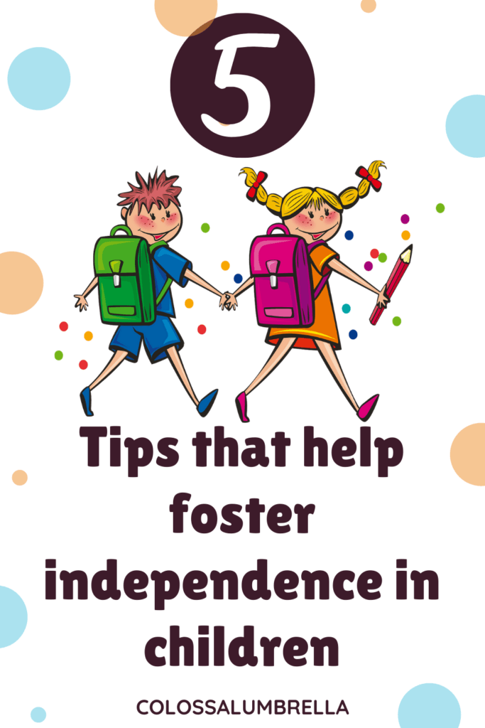 Fostering independence in preschoolers