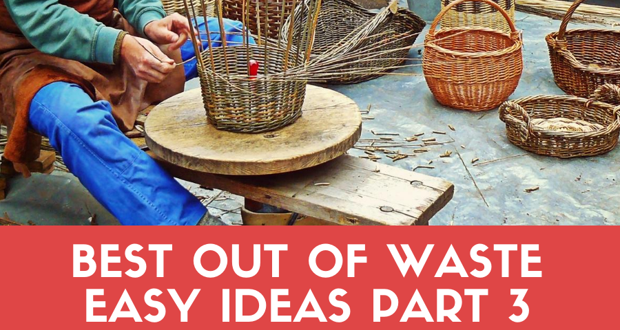 Best out of waste easy ideas – Waste material craft (Part 3)