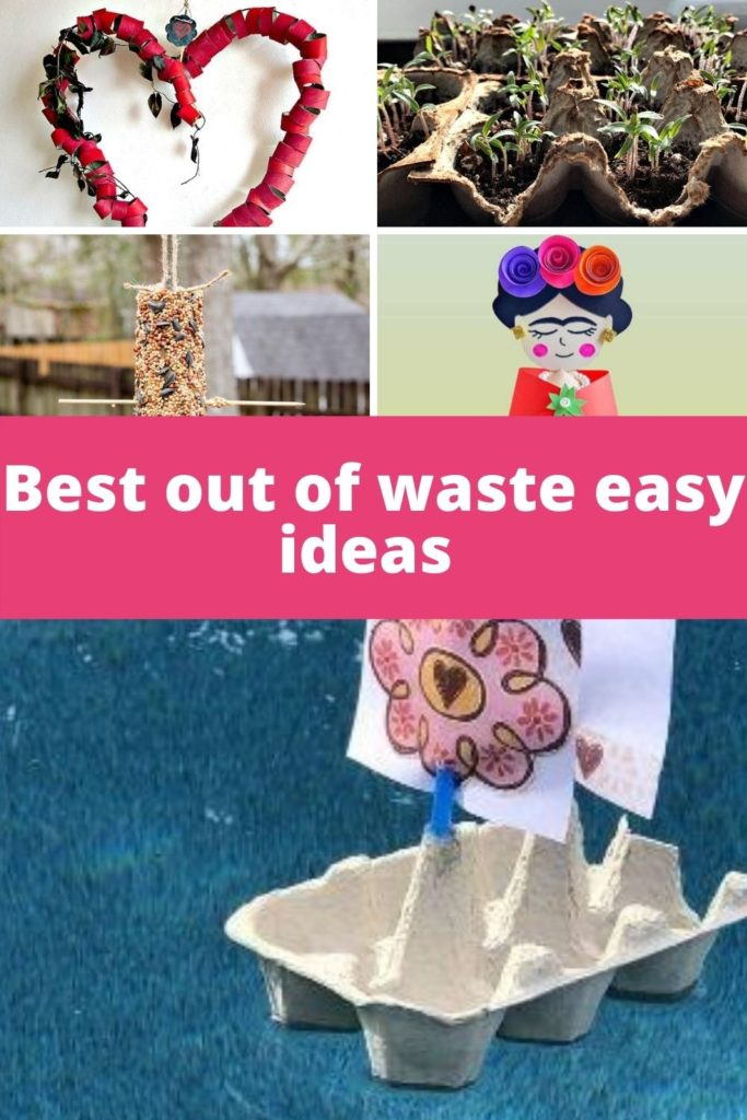 Best out of waste easy ideas - Waste material craft (Part 3)