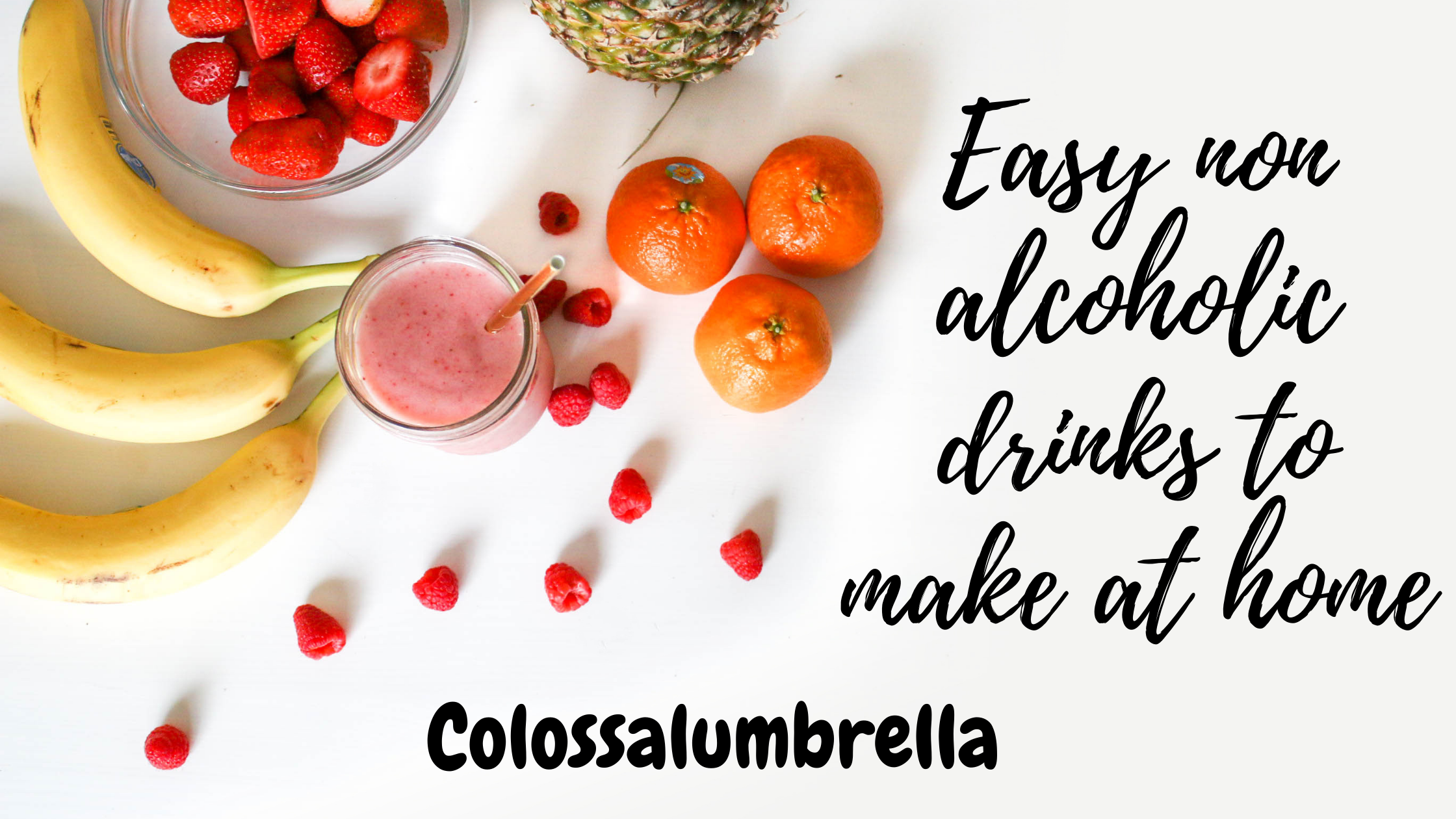 Easy non alcoholic drinks to make at home