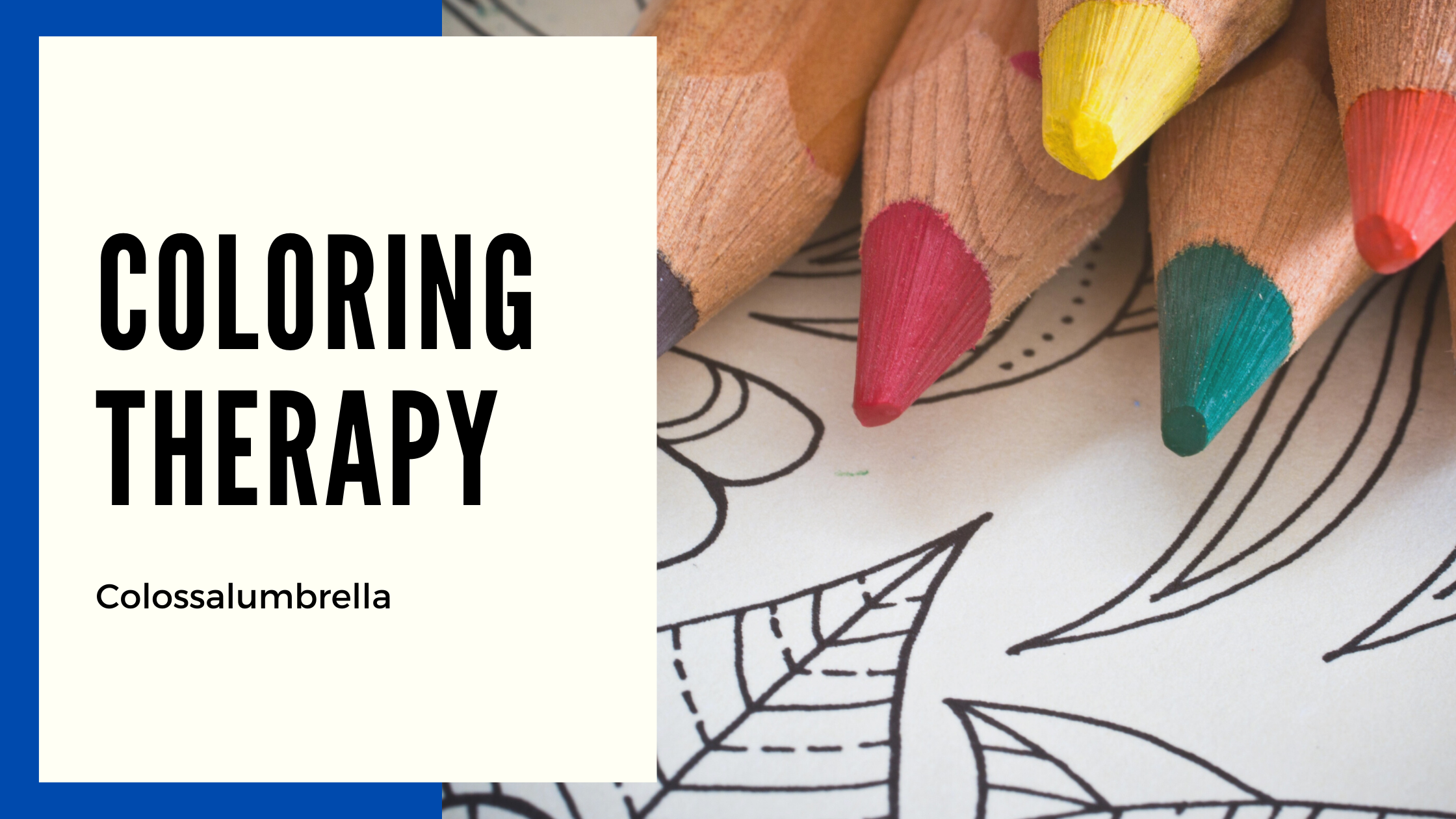 Coloring therapy and 5 certified effects on your well being
